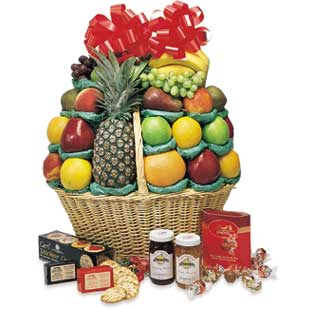 The Big Hurrah Gourmet Fruit Basket