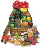 Good Cheer Gourmet Fruit Basket  Hampers - The VIP Good Cheer Hamper - Shown