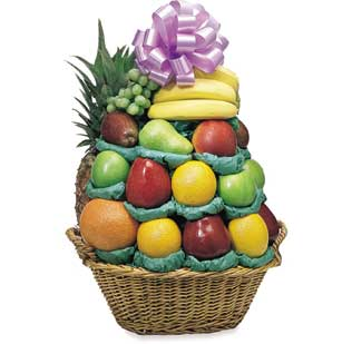 A Fruit Lover's Dream Fruit Basket