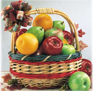 Warm Thoughts - All Fruit Baskets (in 3 Sizes)