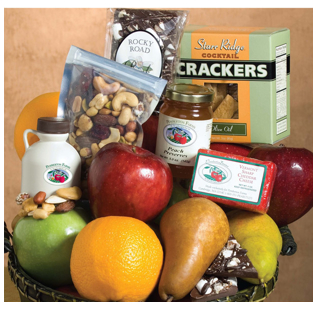 Fruit Design Basket, Gourmet Fruit Basket