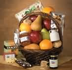 Abundantly Natural Fruit Gift Basket - Abundantly Natural - Shown