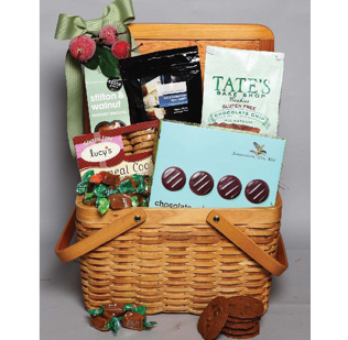 The best gourmet gift baskets for all occasions pemberton farms pembys gluten free gift basket negle Choice Image