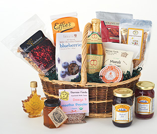 Massachusetts All-Natural Basket