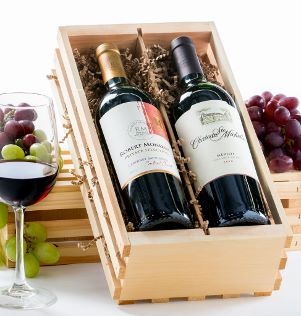 2-Bottle Wine Crate
